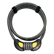 Candado para Bicicleta y/o Moto Cable Seg Terrier 8064Glo