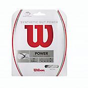 Cuerda para Raqueta de Tenis Gut Power 17 Blanco