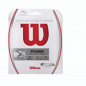 Cuerda para Raqueta de Tenis Gut Power 16 Blanco