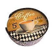 Base para Colocar Bebidas Frías y Calientes Coffe