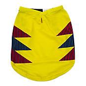 Camiseta Deportiva #18 Amarillo
