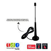 Antena TDT Extensible Para TV Y Decodificador
