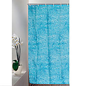 Cortina para Baño 200 x 180 cm Agua