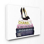 Cuadro en Lienzo Glam Fashion Book 76x102