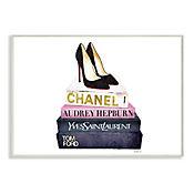 Cuadro Decorativo Glam Fashion Book Placa 32x47