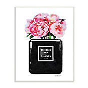 Cuadro Decorativo Perfume Glam Rosa Placa 25x38