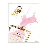 Cuadro Decorativo Perfume Glam Splash Placa 25x38