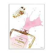 Cuadro Decorativo Perfume Glam Splash Placa 32x47