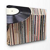 Cuadro en Lienzo Vintage Records 76x102
