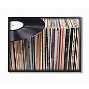 Cuadro en Lienzo Enmarcado Vintage Records 41x51