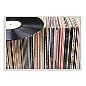 Cuadro Decorativo Vintage Records Placa 25x38