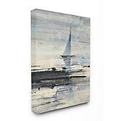 Cuadro en Lienzo Navegación Abstracta 61x76