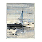 Cuadro Decorativo Navegación Abstracta Placa 32x47