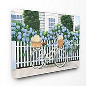 Cuadro en Lienzo Bicicleta y Daisy 41x51