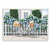 Cuadro Decorativo Bicicleta y Daisy Placa 32x47