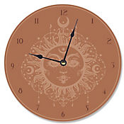 Reloj Tarot Terracota 30x30