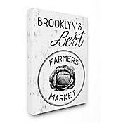 Cuadro en Lienzo Mejores Granjeros de Brooklyn 41x51