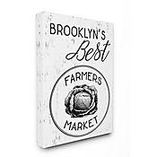 Cuadro en Lienzo Mejores Granjeros de Brooklyn 61x76