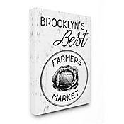 Cuadro en Lienzo Mejores Granjeros de Brooklyn 76x102