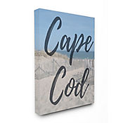 Cuadro en Lienzo Playa Cape Cod Moderno 41x51