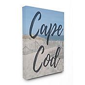 Cuadro en Lienzo Playa Cape Cod Moderno 61x76