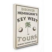 Cuadro en Lienzo Hemingways Key West Tours 41x51