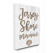 Cuadro en Lienzo Jersey Shore Mermaid 41x51