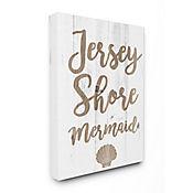 Cuadro en Lienzo Jersey Shore Mermaid 61x76