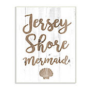 Cuadro Decorativo Jersey Shore Mermaid Placa 25x38