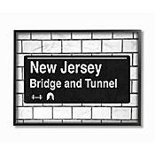 Cuadro en Lienzo Enmarcado New Jersey Bridge 41x51