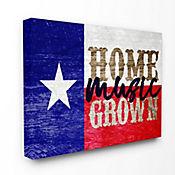 Cuadro en Lienzo Home Grown Music Texas 76x102
