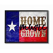 Cuadro en Lienzo Enmarcado Home Grown Texas 41x51