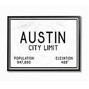 Cuadro en Lienzo Enmarcado Austin City Limit 28x36