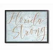Cuadro en Lienzo Enmarcado Florida Strong 41x51