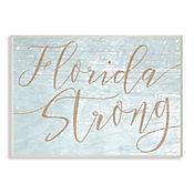 Cuadro Decorativo Florida Strong Placa 32x47