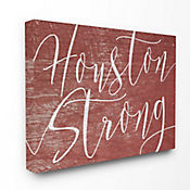 Cuadro en Lienzo Houston Strong 41x51