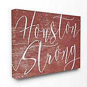 Cuadro en Lienzo Houston Strong 76x102
