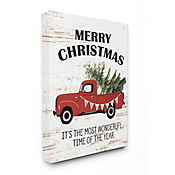 Cuadro en Lienzo Christmas Most Wonderful Time 76x102