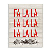 Cuadro Decorativo Christmas Deck The Halls Fa La Placa 32x47