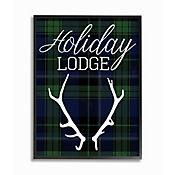 Cuadro en Lienzo Enmarcado Holiday Lodge 28x36