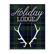 Cuadro Decorativo Holiday Lodge Placa 25x38