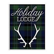 Cuadro Decorativo Holiday Lodge Placa 32x47