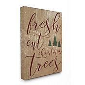 Cuadro en Lienzo Fresh Cut Christmas Tree 41x51