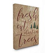Cuadro en Lienzo Fresh Cut Christmas Tree 76x102
