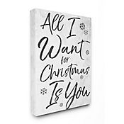 Cuadro en Lienzo All I Want For Christmas Is You 61x76