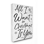 Cuadro en Lienzo All I Want For Christmas Is You 76x102