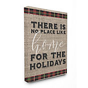 Cuadro en Lienzo No Place Like Home For The Holiday 61x76