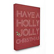 Cuadro en Lienzo Holly Jolly 41x51