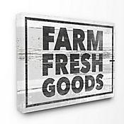 Cuadro en Lienzo Farm Fresh Goods 76x102