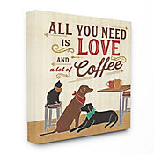 Cuadro en Lienzo All You Need Is Love And Coffee 41x51